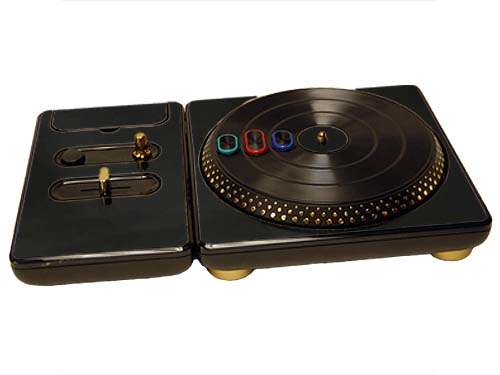 DJ Hero for the PS2, PS3, and 360 Skin :: Black Chrome