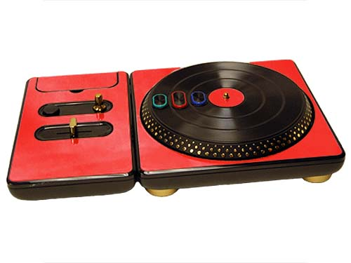 DJ Hero for the PS2, PS3, and 360 Skin :: Red Chrome