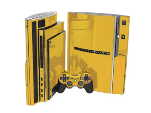 Ps3 Controller Skins Gold Sony playstation 3 skin