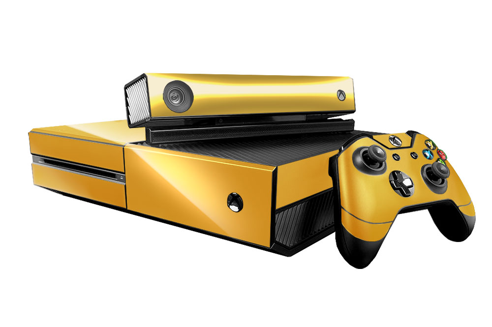 Xbox One Gold Microsoft Xbox One Skin