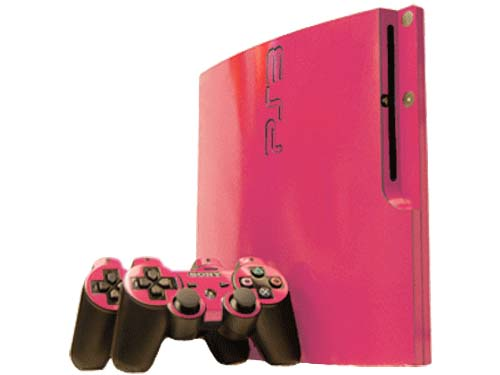 Pink Playstation 3 ConsolePs3 Super Slim Pink