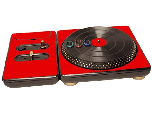 DJ Hero for the PS2, PS3, and 360 Skin :: Red