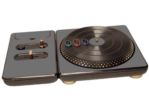 DJ Hero for the PS2, PS3, and 360 Skin :: Silver