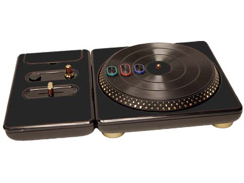DJ Hero for the PS2, PS3, and 360 Skin :: Matte Black