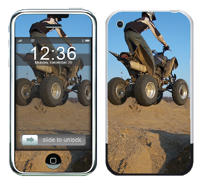 Apple iPhone Skin :: ATV Rider