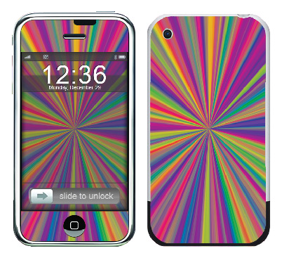 Apple iPhone Skin :: Color Blast