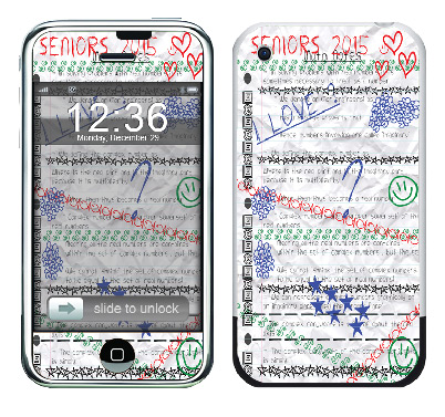 Apple iPhone Skin :: Seniors 2015