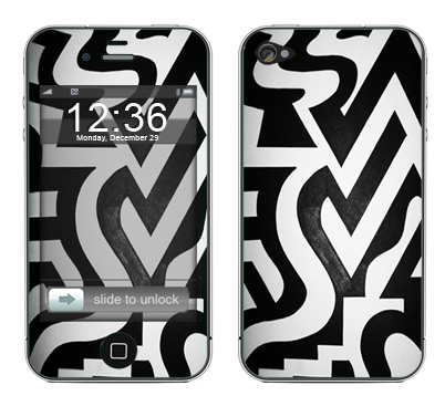 Apple iPhone 4 Skin :: Chaos Theory