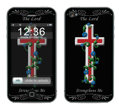 Apple iPhone 4 Skin :: Christian 3