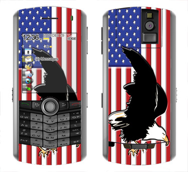 BlackBerry Pearl 8100 Skin :: American Flag 2