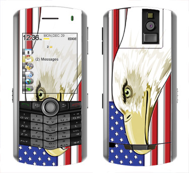 BlackBerry Pearl 8100 Skin :: American Flag 3