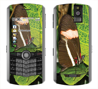 BlackBerry Pearl 8100 Skin :: Butterfly 1