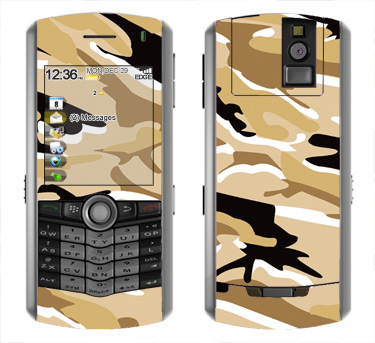 BlackBerry Pearl 8100 Skin :: Camo Desert