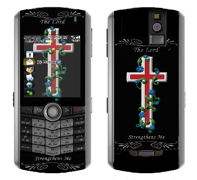 BlackBerry Pearl 8100 Skin :: Christian 3