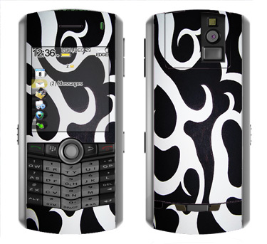 BlackBerry Pearl 8100 Skin :: Curly Contours