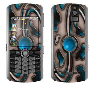 BlackBerry Pearl 8100 Skin :: Cynic Blue