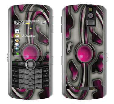 BlackBerry Pearl 8100 Skin :: Cynic Pink