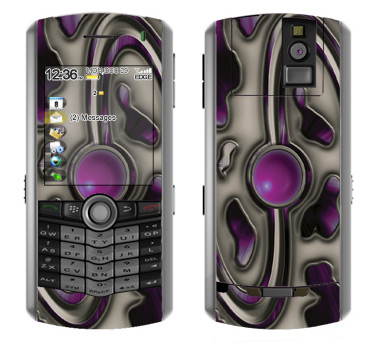 BlackBerry Pearl 8100 Skin :: Cynic Purple