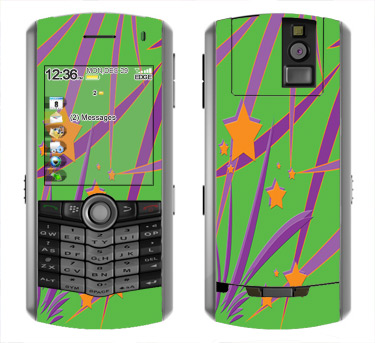 BlackBerry Pearl 8100 Skin :: Floating Stars