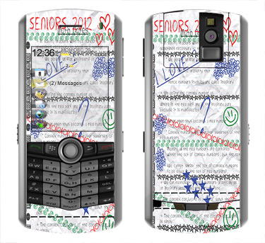 BlackBerry Pearl 8100 Skin :: Seniors 2012