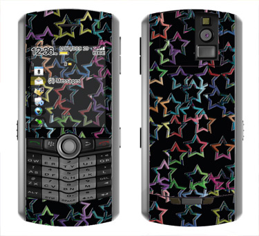 BlackBerry Pearl 8100 Skin :: Star Circuit