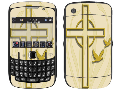 BlackBerry Curve 8520, 8530 Skin :: Christian 1