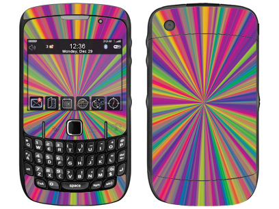 BlackBerry Curve 8520, 8530 Skin :: Color Blast