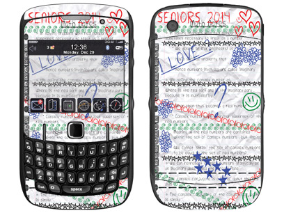 BlackBerry Curve 8520, 8530 Skin :: Seniors 2014