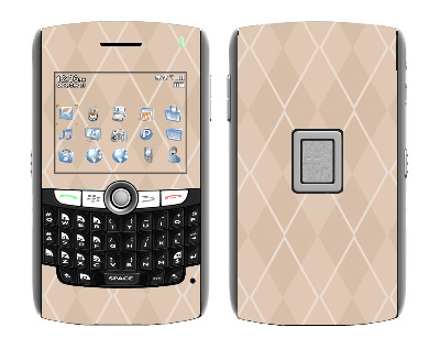 BlackBerry World 8800 Skin :: Argyle Tan