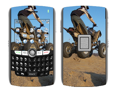 BlackBerry World 8800 Skin :: ATV Rider