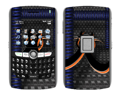 BlackBerry World 8800 Skin :: Bio Hazard