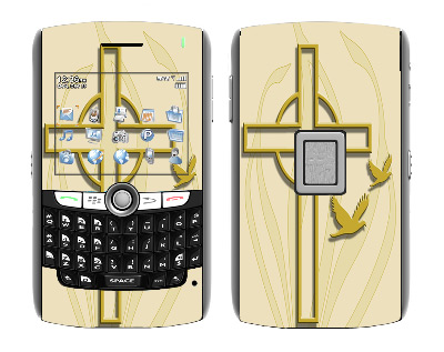 BlackBerry World 8800 Skin :: Christian 1