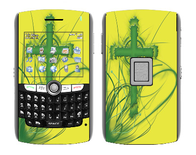 BlackBerry World 8800 Skin :: Christian 2