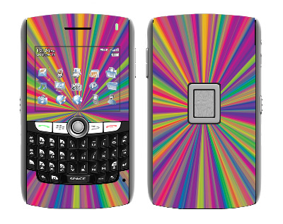 BlackBerry World 8800 Skin :: Color Blast