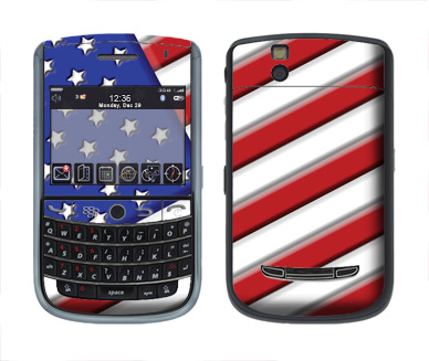 BlackBerry Tour 9630 Skin :: American Flag 1