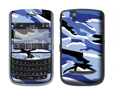 BlackBerry Tour 9630 Skin :: Camo Blue