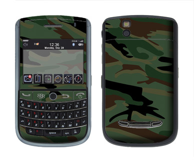 BlackBerry Tour 9630 Skin :: Camo Green