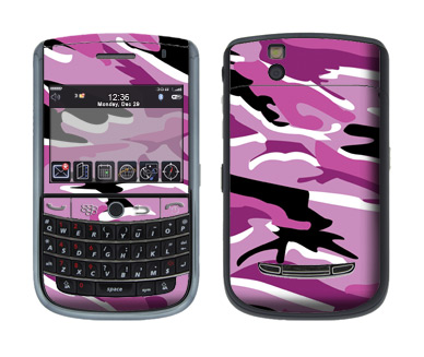 BlackBerry Tour 9630 Skin :: Camo Pink