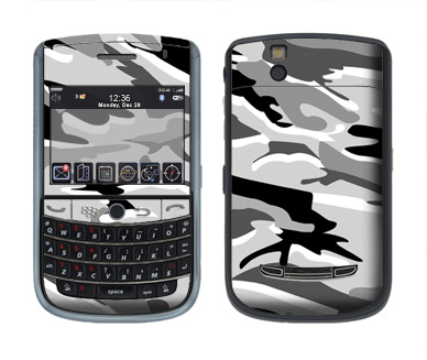 BlackBerry Tour 9630 Skin :: Camo Snow