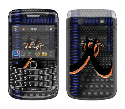 BlackBerry Bold 9700 Skin :: Bio Hazard