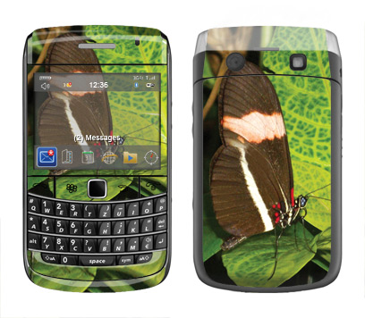 BlackBerry Bold 9700 Skin :: Butterfly 1