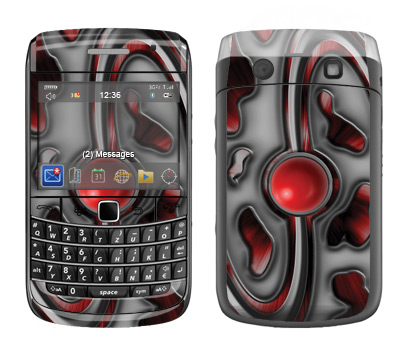 BlackBerry Bold 9700 Skin :: Cynic Red