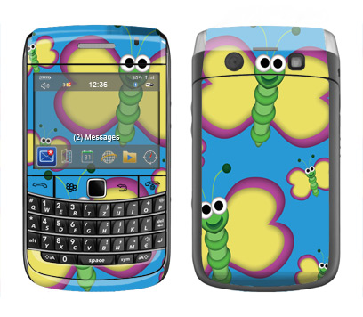 BlackBerry Bold 9700 Skin :: Digital Butterfly