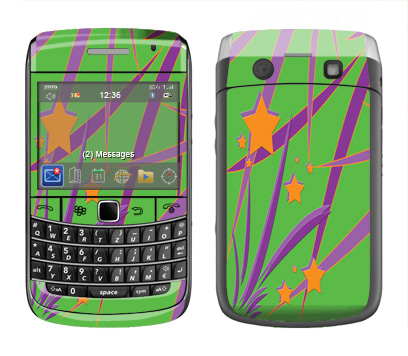 BlackBerry Bold 9700 Skin :: Floating Stars