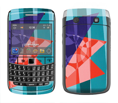 BlackBerry Bold 9700 Skin :: Geometric Blast