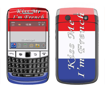 BlackBerry Bold 9700 Skin :: Kiss Me French
