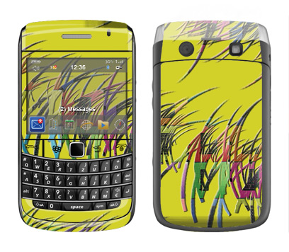 BlackBerry Bold 9700 Skin :: Natures Circuit