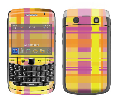 BlackBerry Bold 9700 Skin :: Sun Kissed Plaid