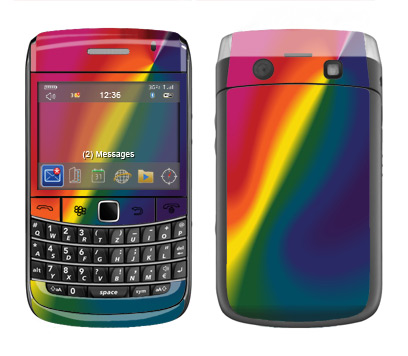 BlackBerry Bold 9700 Skin :: Polar Spectrum
