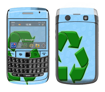 BlackBerry Bold 9700 Skin :: Recycle